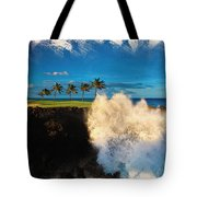 The Jack Nicklaus Signature Hualalai Golf Course Tote Bag