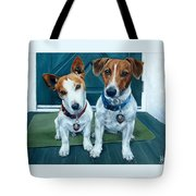 The Jack Russel Duo Tote Bag