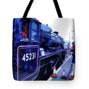 The Jacobite At Mallaig Station Platform 2 Tote Bag