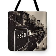 The Jacobite At Mallaig Station Platform 4 Tote Bag