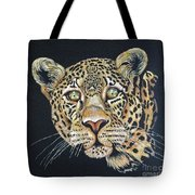 The Jaguar - Acrylic Painting Tote Bag