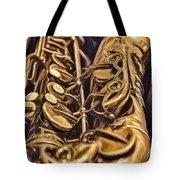 The Jazz Machine Tote Bag