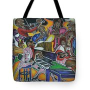 The Jazz Orchestra Tote Bag