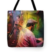 The Jazz Vipers In New Orleans 01 Tote Bag
