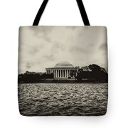 The Jefferson Memorial Tote Bag by Bill Cannon