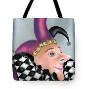 The Jester Tote Bag by Arline Wagner