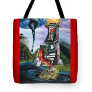 The Jester Of Time Tote Bag