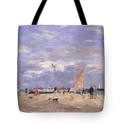 The Jetty At Deauville Tote Bag
