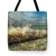 The Jetty Storm Tote Bag