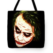 The Joker - Pop Art Tote Bag