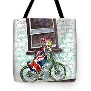 The Jolly Fryer In Ripon Tote Bag