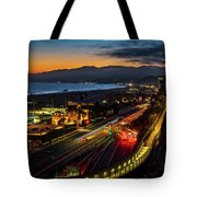 The Jonathan Beach Club - Night  Tote Bag