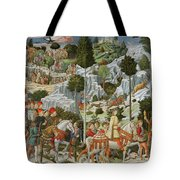 The Journey Of The Magi To Bethlehem Tote Bag
