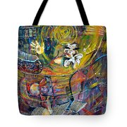 The Journey Tote Bag by Peggy  Blood