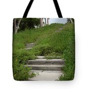 The Journey Secret Steps Tote Bag