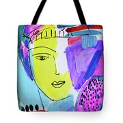 The Joy Of Contemplation And Color Tote Bag