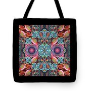 The Joy Of Design Mandala Series Puzzle 7 Arrangement 1 Tote Bag