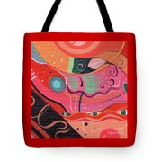 The Joy Of Design X L V I I I Upside Down Tote Bag