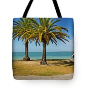 The Joy Of Sea And Palms Tote Bag