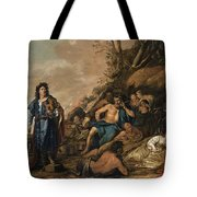 The Judgement Of Midas In The Contest Between Apollo And Pan Tote Bag