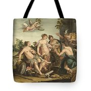 The Judgement Of Paris Tote Bag