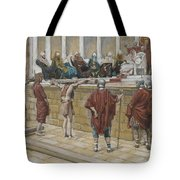 The Judgement On The Gabbatha Tote Bag by Tissot