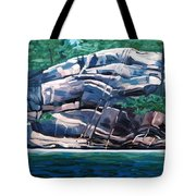 The Jumping Rock - Midday Tote Bag