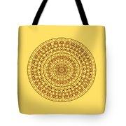 The Jungle Mandala Tote Bag
