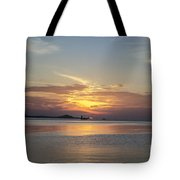 The Junk At Sunset Tote Bag