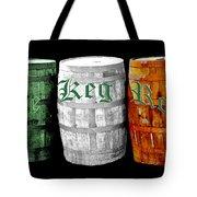 The Keg Room Irish Flag Colors Old English Hunter Green Tote Bag