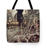The Kensington Gardens Are In London Where The King Lives Tote Bag