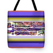 The Key Of Abstraction Tote Bag