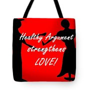 The Key To Love Tote Bag