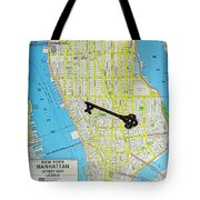 The Key To The City Tote Bag
