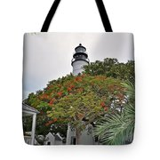 The Key West Lighthouse Tote Bag