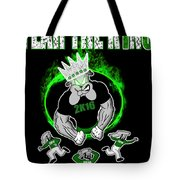 The King Is Here Tote Bag