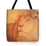 The King Lion Tote Bag