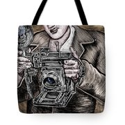 The King Of Cameras Tote Bag