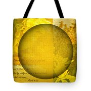 The Kingdom Of God Is Like A Mustard Seed Tote Bag