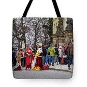 The Kings Of The Democracy. Prague Castle. Prague Spring 2017 Tote Bag