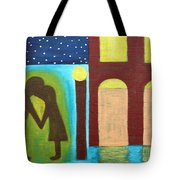 The Kiss Goodnight Tote Bag