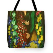 The Kiss Tote Bag by Milagros Palmieri