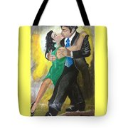 The Kiss Of Passion Tote Bag by Mimi Eskenazi