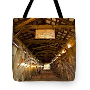 The Kissing Bridge Tote Bag