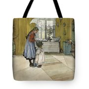 The Kitchen. From A Home Tote Bag