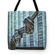 The Knotted Gun Tote Bag