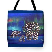 The Knotty Polar Bears Tote Bag