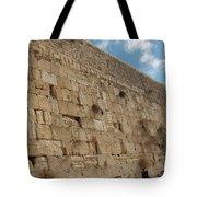 The Kotel - Western Wall In Jerusalem Tote Bag