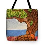 The Labor Day Hamptons Tree Tote Bag