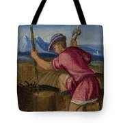 The Labours Of The Months   February Tote Bag